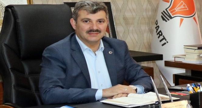 """Başkan Altınsoy: """"KÖYDES ile köylerimizi güzelleştirdik"""""""