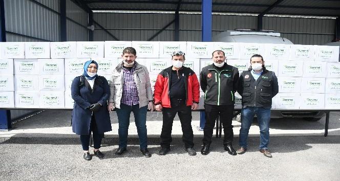 Vefa Sosyal Destek Grubu Aksarayda çalışmalarını sürdürüyor
