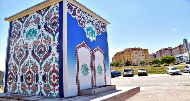 Aksaray Belediyesi tatlı su kabinlerini mahallelere yerleştiriliyor