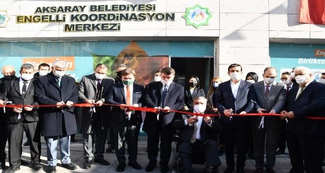 Aksarayda 3 Aralık Dünya Engelliler Gününde engelli koordinasyon merkezi açıldı