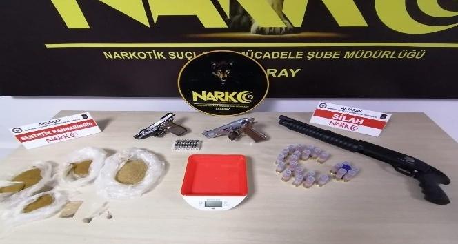 Aksarayda uyuşturucu operasyonu: 4 tutuklama