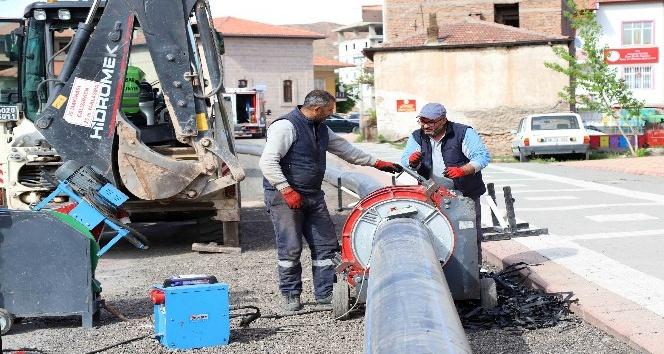 """Başkan Dinçer: """"Şehrimizi asbest borulardan arındırıyoruz"""""""