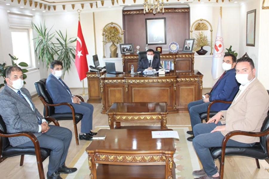Kaymakamımız Sayın Osman ACAR Başkanlığında Proje Toplantıları Yapıldı.