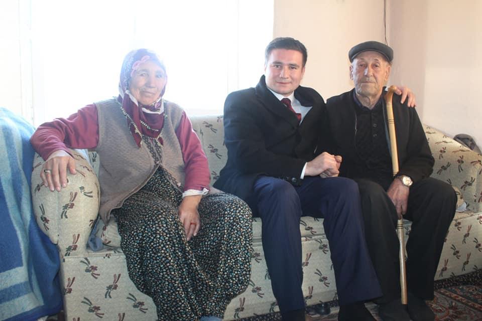 Kaymakamımız Sayın Osman ACAR İlçemiz Yağmurhüyüğü Köyü Karapınar Yaylasında Hane Ziy...