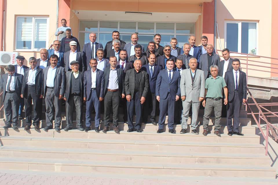 Kaymakamımız Sayın Osman ACAR Başkanlığında Kasım Ayı Muhtarlar Toplantısı Yapıldı
