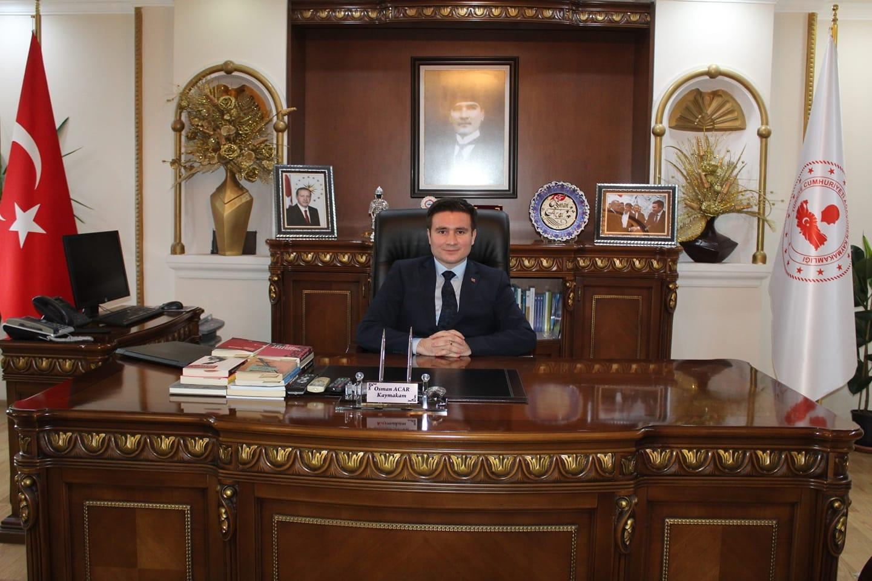 Kaymakamımız Sayın Osman ACAR 'ın Regaip Kandili Mesajı