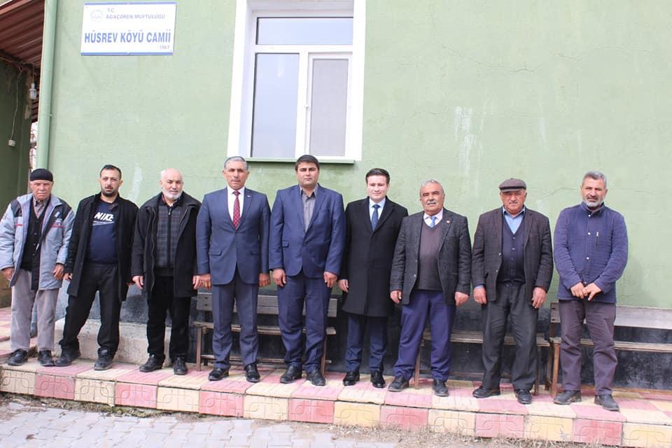 Sayın Kaymakamımız Osman ACAR İlçemiz Hüsrev Köyünü Ziyaret Etti