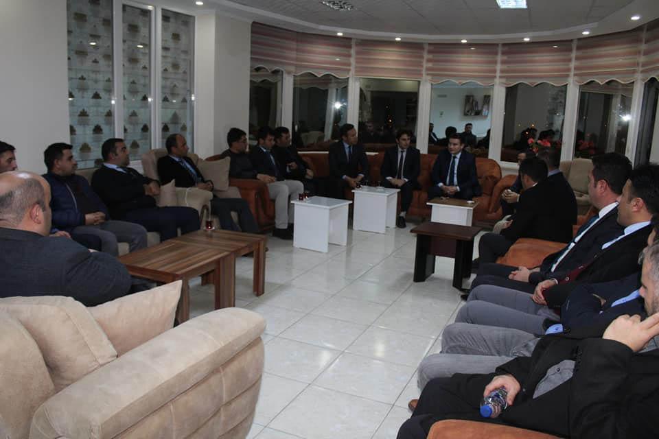 Kaymakamımız Sayın Osman ACAR Başkanlığında Eğitim Toplantısı Yapıldı